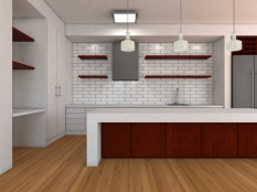 Nordic inspired kitchen