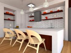Nordic inspired kitchen design