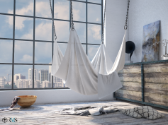 Room with a view - hammock